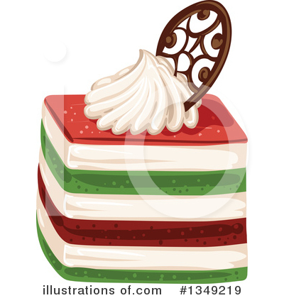 Cake Clipart #1349219 by merlinul