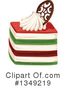 Royalty-Free (RF) Cake Clipart Illustration #1349219