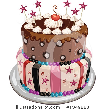 Cake Clipart #1349223 by merlinul