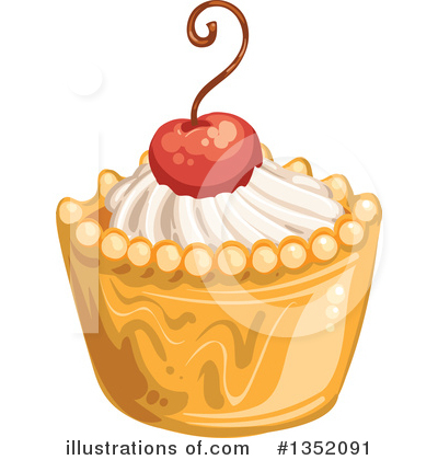 Cake Clipart #1352091 by merlinul