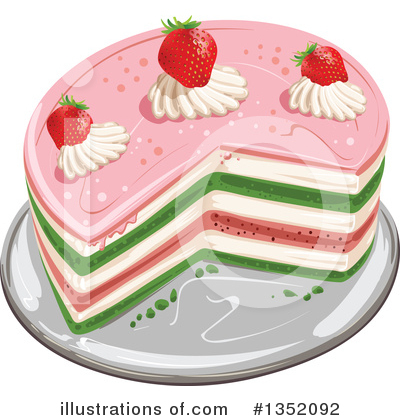 Strawberry Clipart #1352092 by merlinul