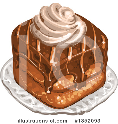 Cake Clipart #1352093 by merlinul