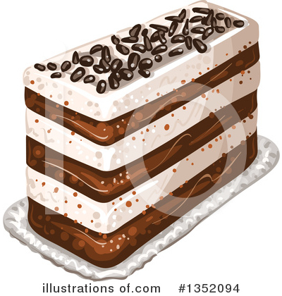 Cake Clipart #1352094 by merlinul