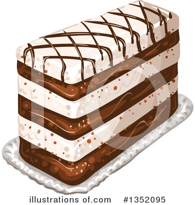 Cake Clipart #1352095 by merlinul