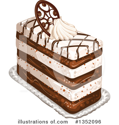 Cake Clipart #1352096 by merlinul