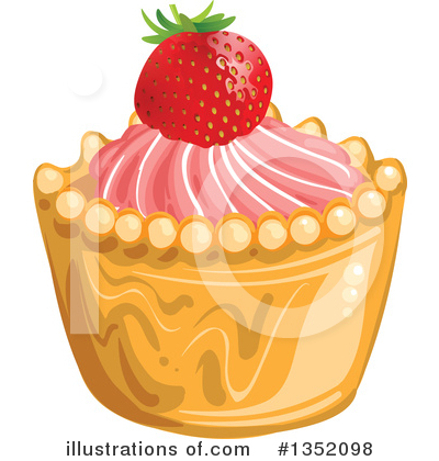 Strawberry Clipart #1352098 by merlinul