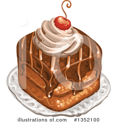 Cake Clipart #1352100 by merlinul