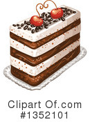 Royalty-Free (RF) Cake Clipart Illustration #1352101