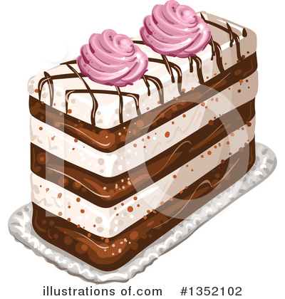 Cake Clipart #1352102 by merlinul
