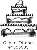 Cake Clipart #1355933 by Vector Tradition SM