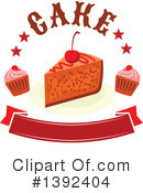 Cake Clipart #1392404 by Vector Tradition SM