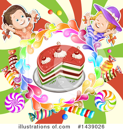 Cake Clipart #1439026 by merlinul
