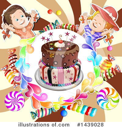 Cake Clipart #1439028 by merlinul
