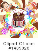 Royalty-Free (RF) Cake Clipart Illustration #1439028