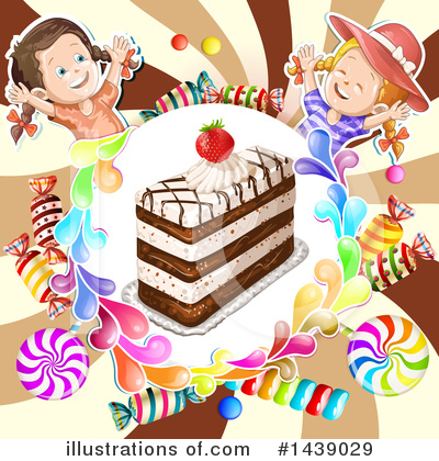 Cake Clipart #1439029 by merlinul