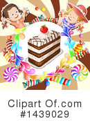 Royalty-Free (RF) Cake Clipart Illustration #1439029