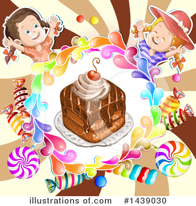 Cake Clipart #1439030 by merlinul