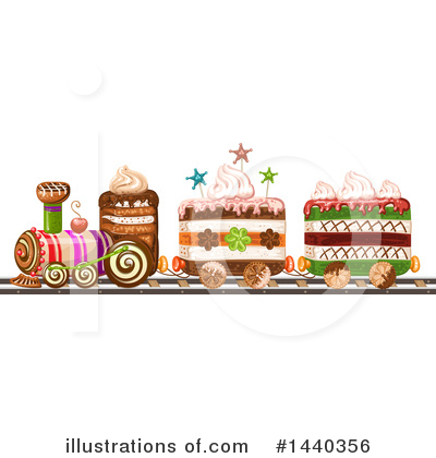 Cake Clipart #1440356 by merlinul