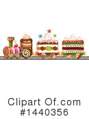 Royalty-Free (RF) Cake Clipart Illustration #1440356