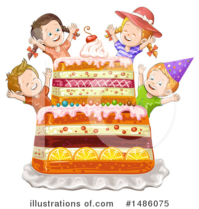 Cake Clipart #1486075 by merlinul
