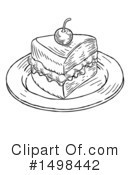 Cake Clipart #1498442 by AtStockIllustration