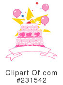 Cake Clipart #231542 by Hit Toon