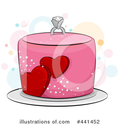 Royalty-Free (RF) Cake Clipart Illustration by BNP Design Studio - Stock Sample #441452