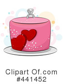 Royalty-Free (RF) Cake Clipart Illustration #441452