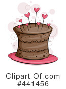 Royalty-Free (RF) Cake Clipart Illustration #441456