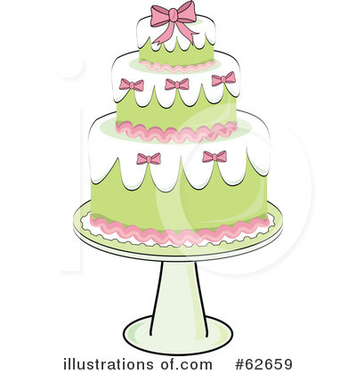 Cake Clipart #62659 by Pams Clipart