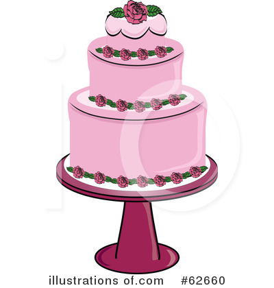 Cake Clipart #62660 by Pams Clipart