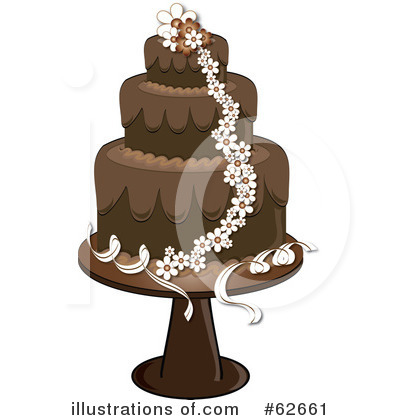 Cake Clipart #62661 by Pams Clipart