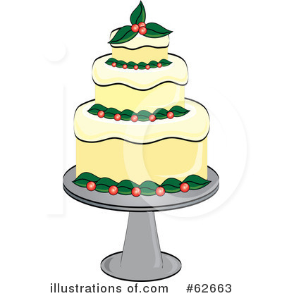 Cake Clipart #62663 by Pams Clipart