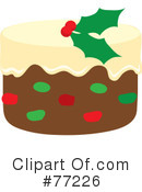Royalty-Free (RF) Cake Clipart Illustration #77226