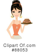 Royalty-Free (RF) Cake Clipart Illustration #88053