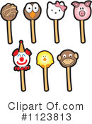 Royalty-Free (RF) Cake Pop Clipart Illustration #1123813