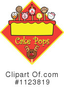 Royalty-Free (RF) Cake Pop Clipart Illustration #1123819