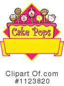 Royalty-Free (RF) Cake Pop Clipart Illustration #1123820