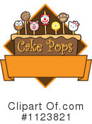 Royalty-Free (RF) Cake Pop Clipart Illustration #1123821