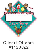 Royalty-Free (RF) Cake Pop Clipart Illustration #1123822