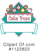 Royalty-Free (RF) Cake Pop Clipart Illustration #1123823