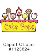 Royalty-Free (RF) Cake Pop Clipart Illustration #1123824