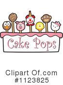 Royalty-Free (RF) Cake Pop Clipart Illustration #1123825