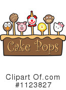 Royalty-Free (RF) Cake Pop Clipart Illustration #1123827