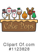 Royalty-Free (RF) Cake Pop Clipart Illustration #1123828