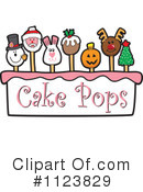 Royalty-Free (RF) Cake Pop Clipart Illustration #1123829