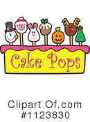 Royalty-Free (RF) Cake Pop Clipart Illustration #1123830