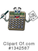 Royalty-Free (RF) Calculator Clipart Illustration #1342587