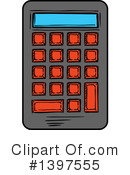 Royalty-Free (RF) Calculator Clipart Illustration #1397555