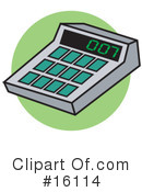 Calculator Clipart #16114